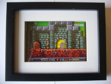 Turrican 2 Amiga 3D Diorama Shadow Box